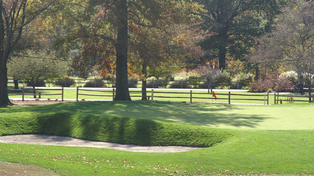 A view of a green at Quail Creek Country Club & Resort.