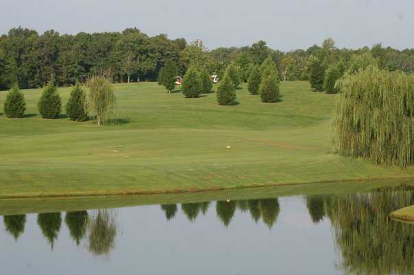 View of a green from Willow Ridge Golf Course
