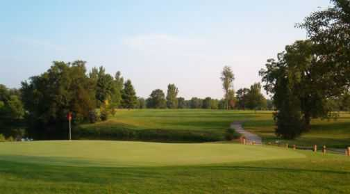 A view of green #11 at Golfmohr Golf Course