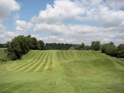 View of a fairway at Oak Gables Golf Club