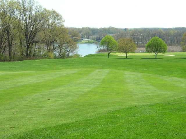 View of a green at Turkeyfoot Lake Golf Links