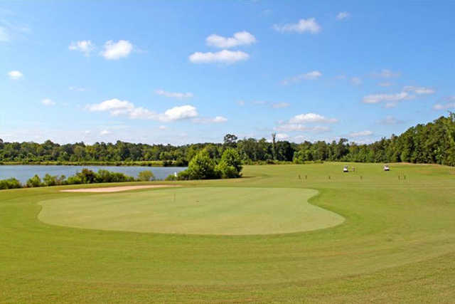 View of the #8 green at West Fork Golf & Country Club