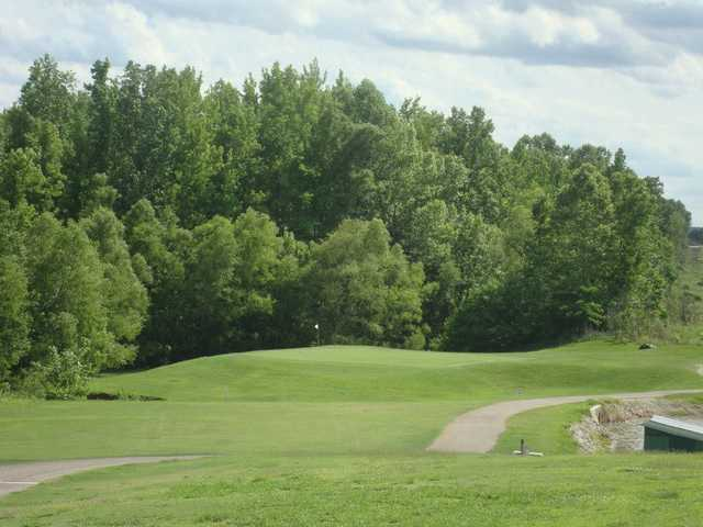 View of a green at Bent Tree Golf Club