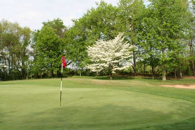 A spring view from Quail Crossing Golf Club