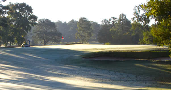 A view of hole #14 at Lancaster Golf Club