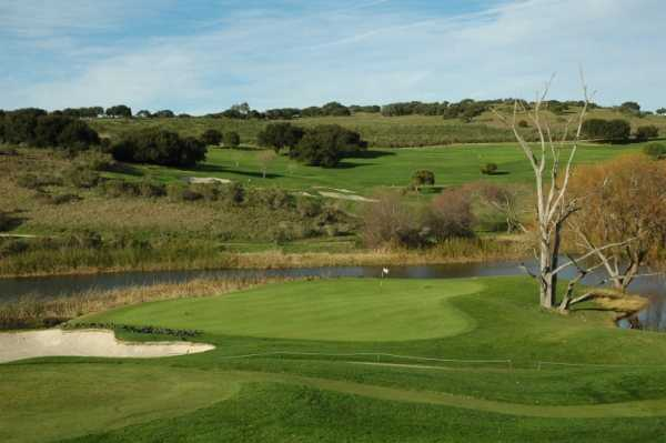 View of a green from La Purisima Golf Course