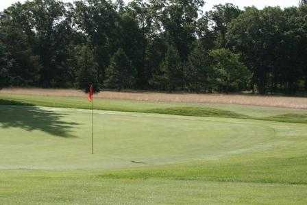A view of a green at Marquette Trails Country Club