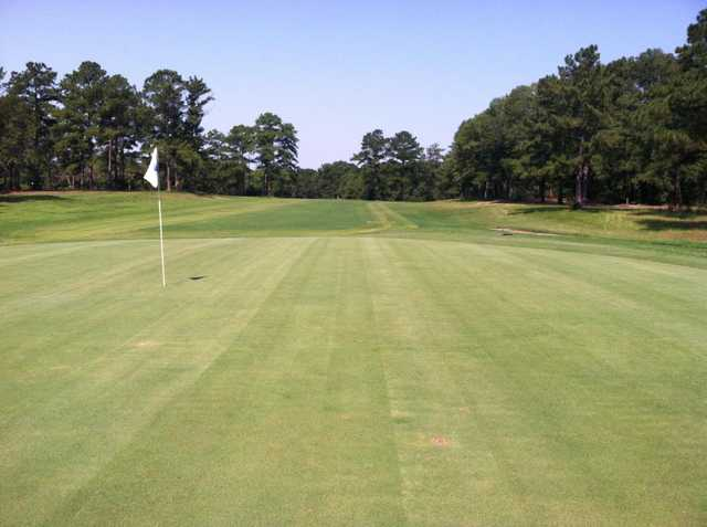 A view of the 17th green at Dothan National Golf Club