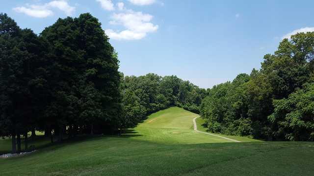 A view from John James Audubon Golf Course.