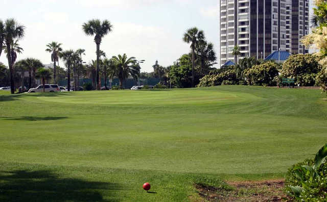 A view from the 13th tee at Oceans Golf Club.
