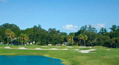 A view from Hacienda Hills Golf & Country Club