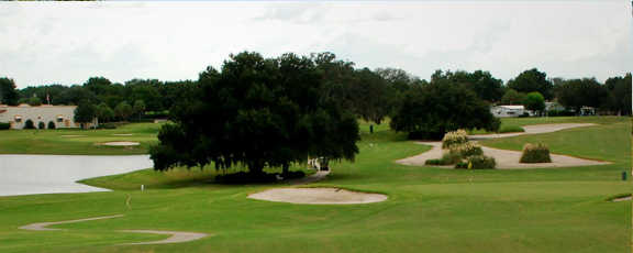 A view from Hill Top at The Villages Executive Golf Trail.