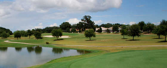 A view from Amberwood at The Villages Executive Golf Trail