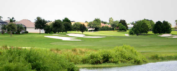 A view over the water from Briarwood at The Villages Executive Golf Trail.