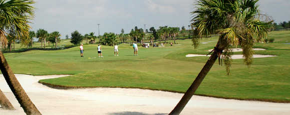 A view from Turtle Mound at The Villages Executive Golf Trail.