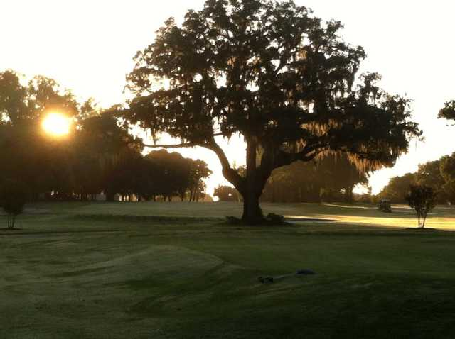 A morning view from Water Oak Country Club