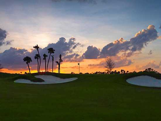 A view of the 13th hole at Jupiter Country Club