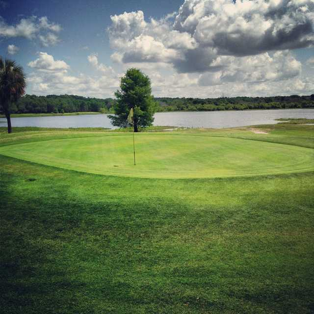 A view of green #4 from The Country Club at Lake City