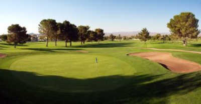 A view of green #18 at Boulder City Golf Course
