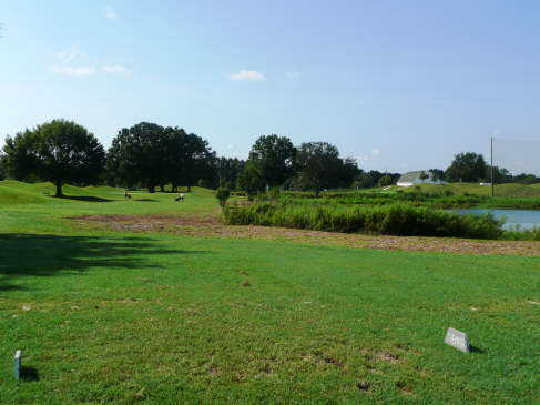 A view from the 5th tee at Lutz Golf Center