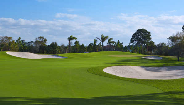 A view of fairway #1 at Floridian