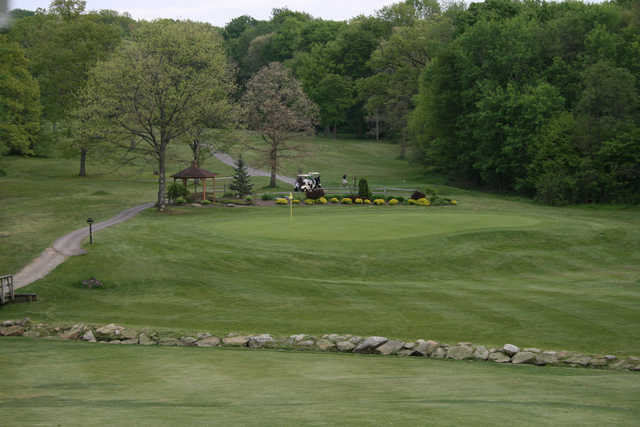A view of a green at Cross Creek Resort