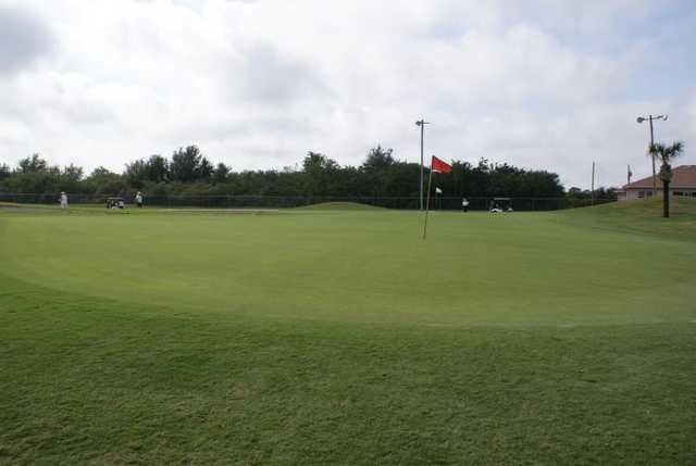 A view of a green at Duffy's Golf Center