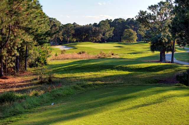 A view from the 6th tee at Cypress Head Golf Club