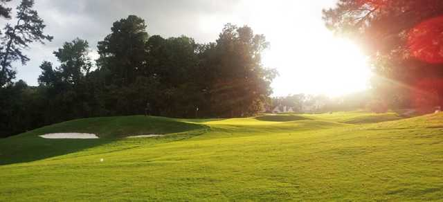 A view of hole #7 at Wildwood Green Golf Course.