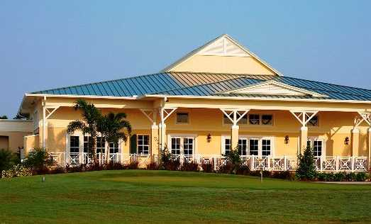 A view of the clubhouse at Pointe West Country Club.