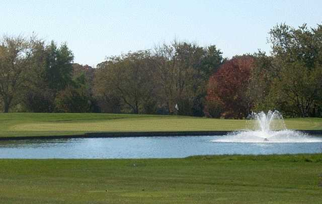 View of a green at Deer Park Country Club