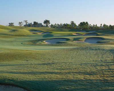 A view of fairway #15 at Quail Valley Golf Club