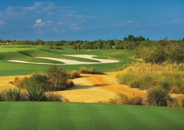 A view of the 7th fairway at RedStick Golf Club