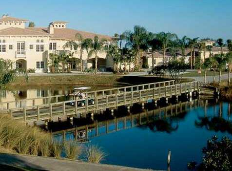 A view of the clubhouse at Grand Harbor Golf & Beach Club