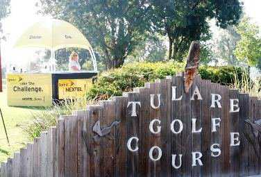 A view from the entrance of Tulare Golf Course