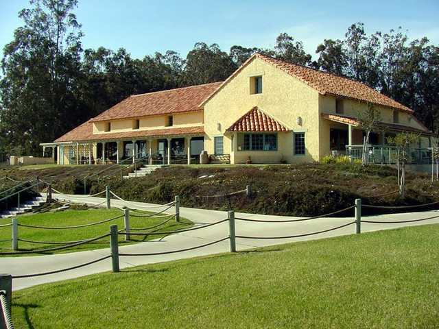 View of the clubhouse at Marshallia Ranch Golf Course
