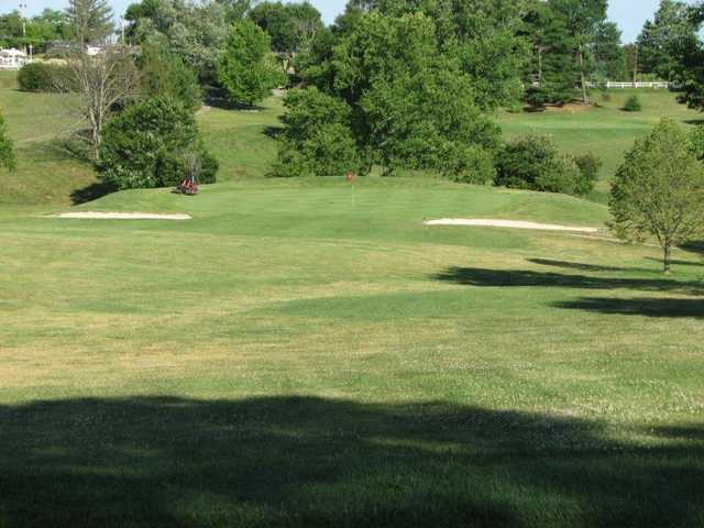 A view of green #11 at Valley View Club
