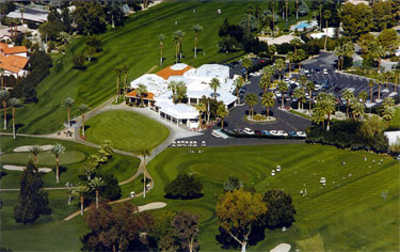 Aerial view from De Anza Country Club