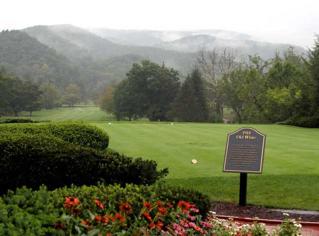 A view from Old White Course at Greenbrier