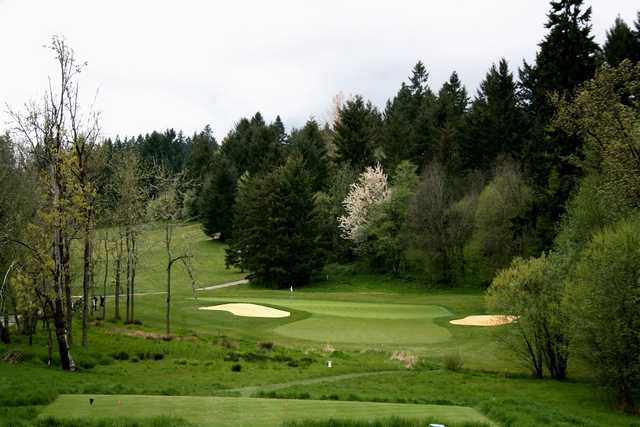 View from Ghost Creek at Pumpkin Ridge Golf Club.