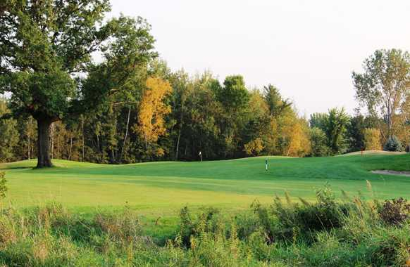 A view from a fairway at Stones Throw Golf Course