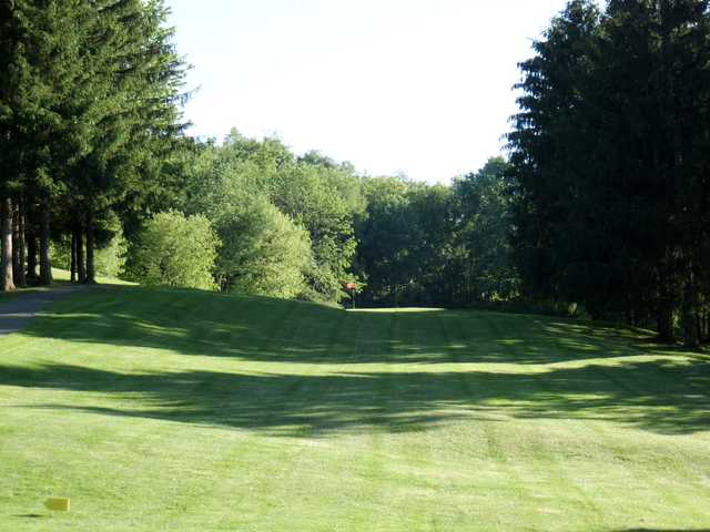 A view from a fairway at Oak Lake Golf Course