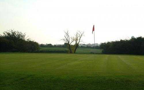 A view of hole #4 at Fallen Timbers Fairways