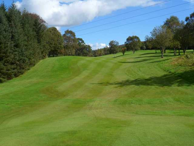 A view of fairway #11 at Newtownstewart Golf Club