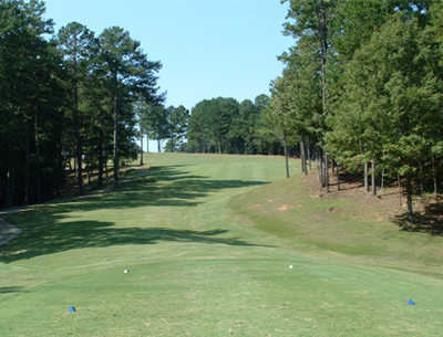 A view from tee #9 at Woodland Hills Golf Club