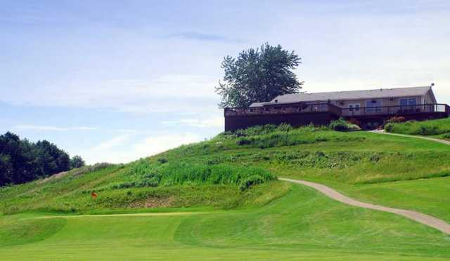 A view of the clubhouse at Brant Valley Golf Course