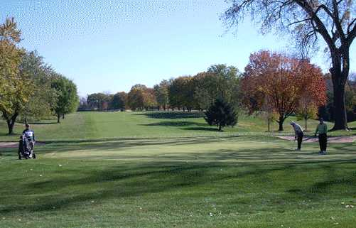 A fall view from Deer Park Country Club