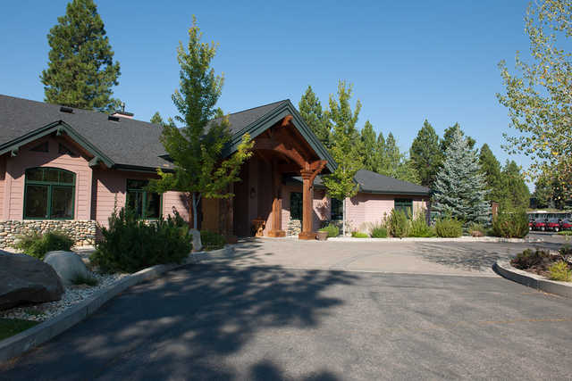 A view of the clubhouse at Bailey Creek Golf Course
