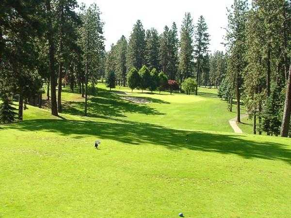 A view from tee #6 at Coeur D'Alene Golf Club