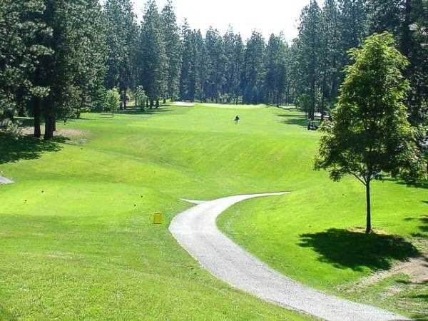 A view from the 4th tee at Coeur D'Alene Golf Club